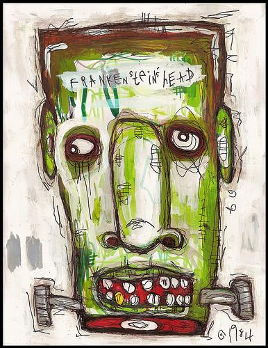 ladyorlando5: Frankenstein's Head