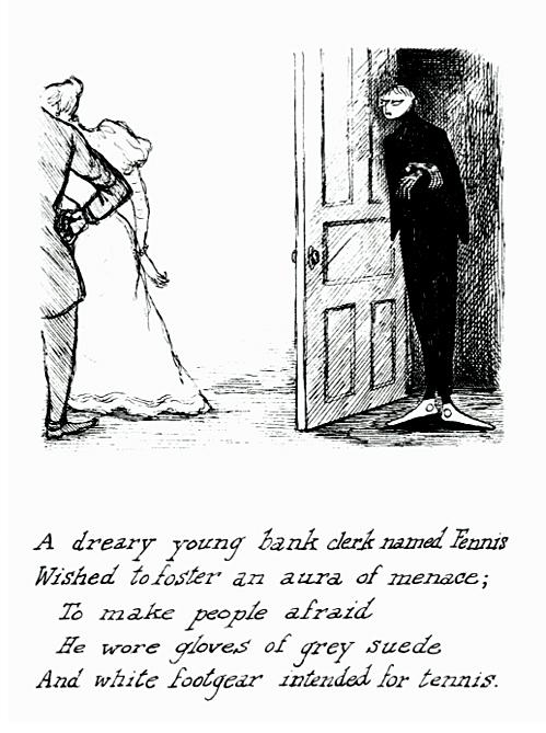 nevver :      Edward Gorey      i freaking LOVE mr gorey