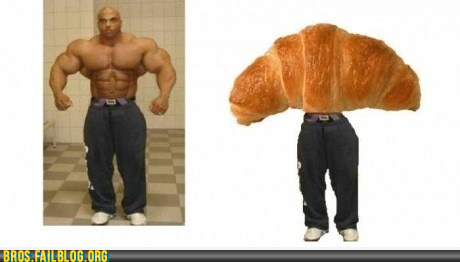 """They said I could become anything, so I became a croissant""   see more  epicfails  see more epicfails"