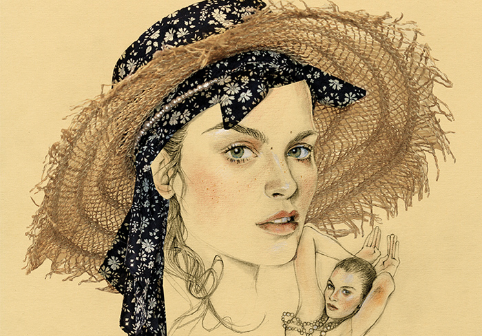 gorgeous! illustration by  Cédric Rivrain .