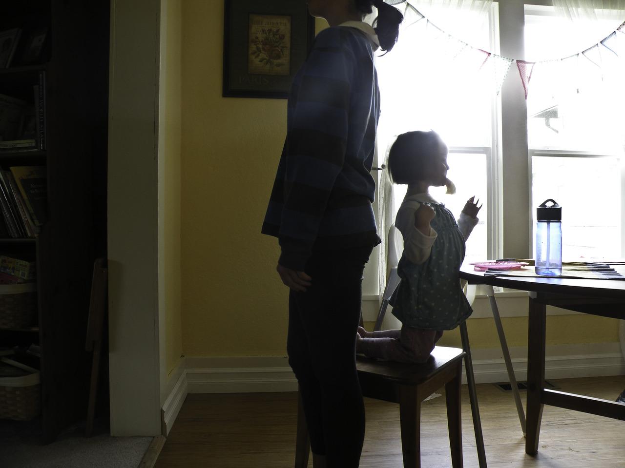 clare & britt's height contest