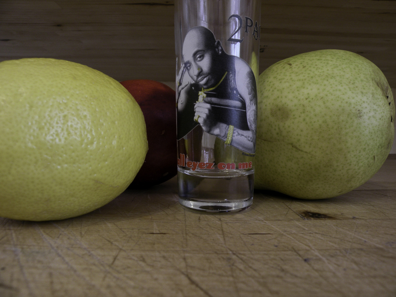 still life with tupac