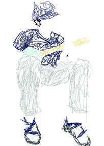 pete's scribble portrait