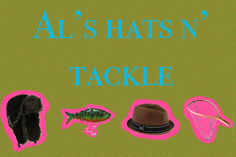 visit al's hats n tackle for all your hats n tackle needs
