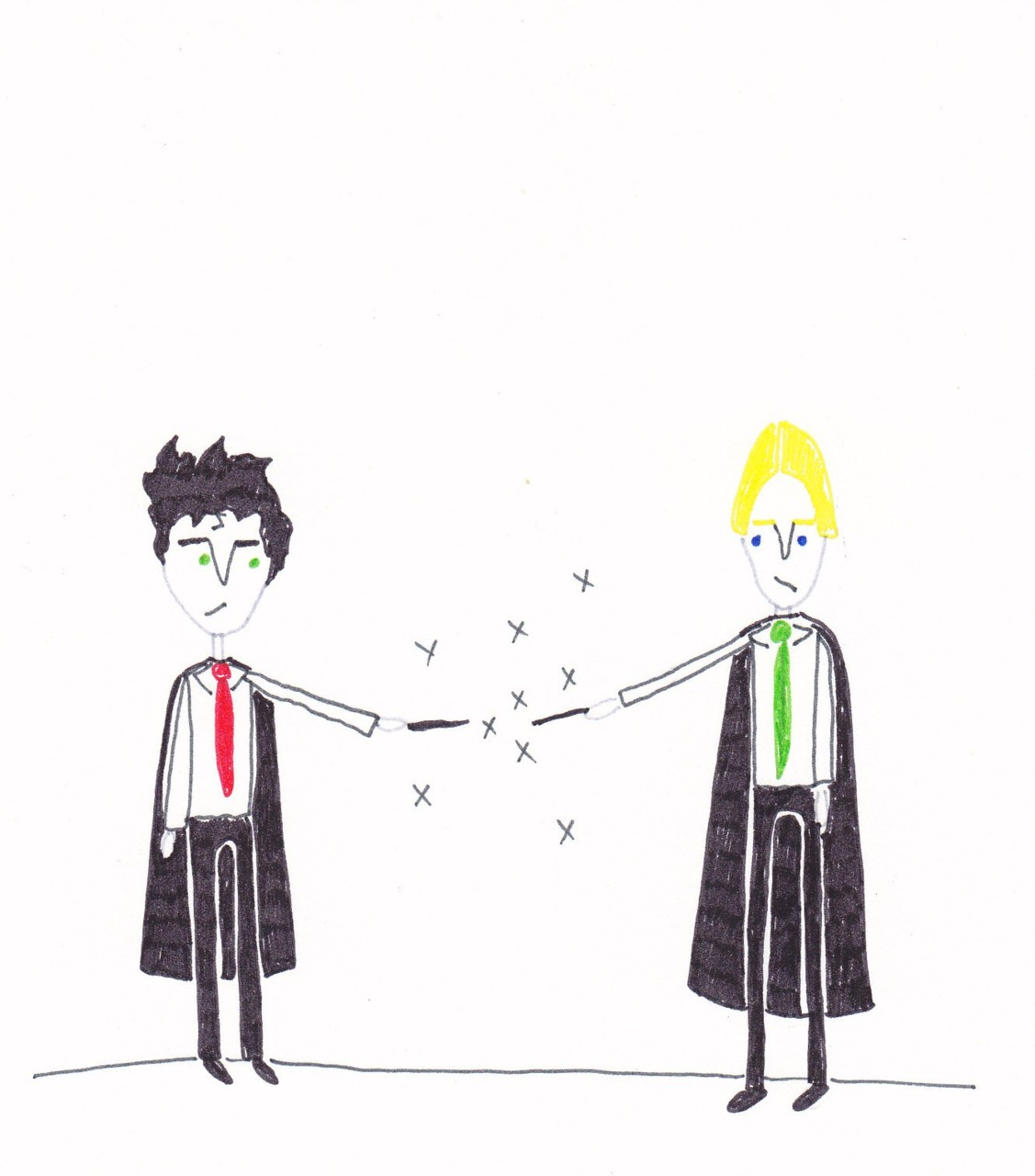 harry vs draco