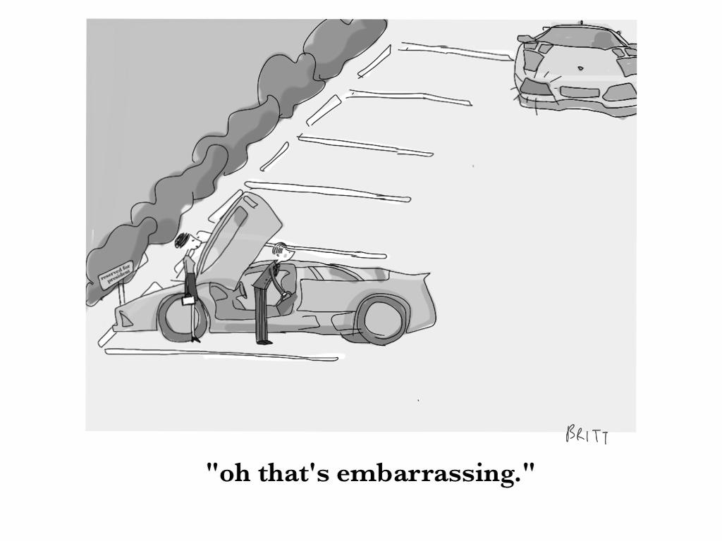 A real auto faux pas