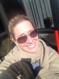 Lauren Giglio wraps herself in Cashmere always!