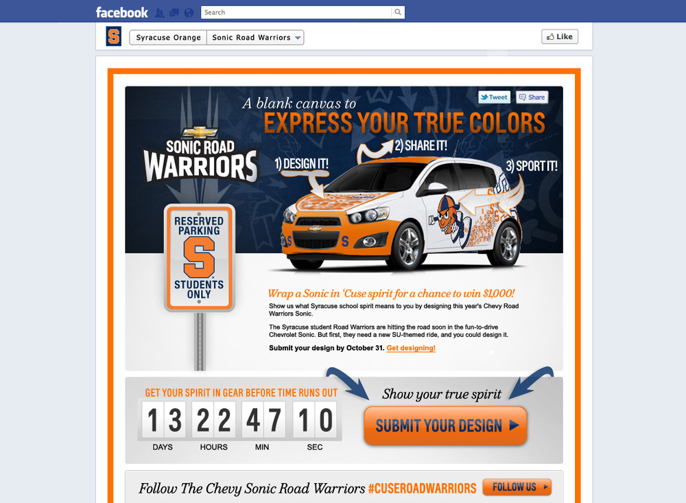 Chevy Road Warriors Contest