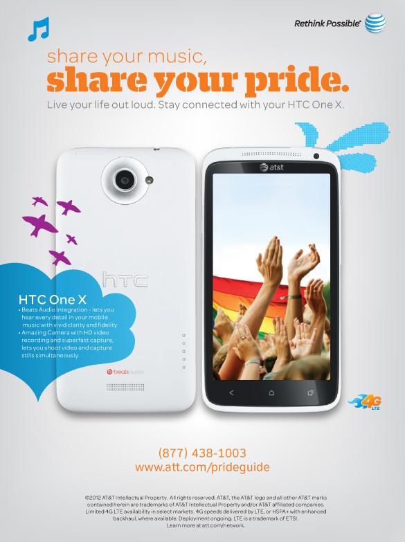 AT&T Pride Print Ad
