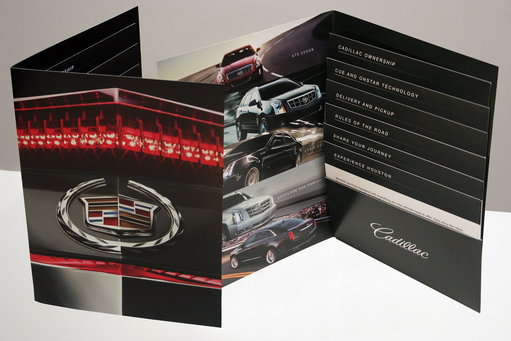 Cadillac Influencer Folder