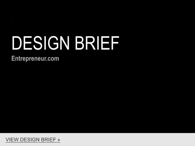 View Design Brief »