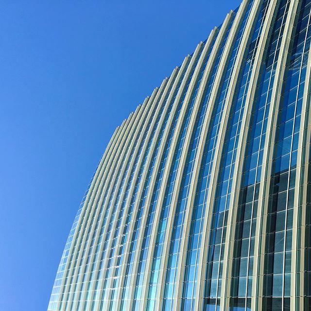 #minimal #modern #architecture #blue #pattern