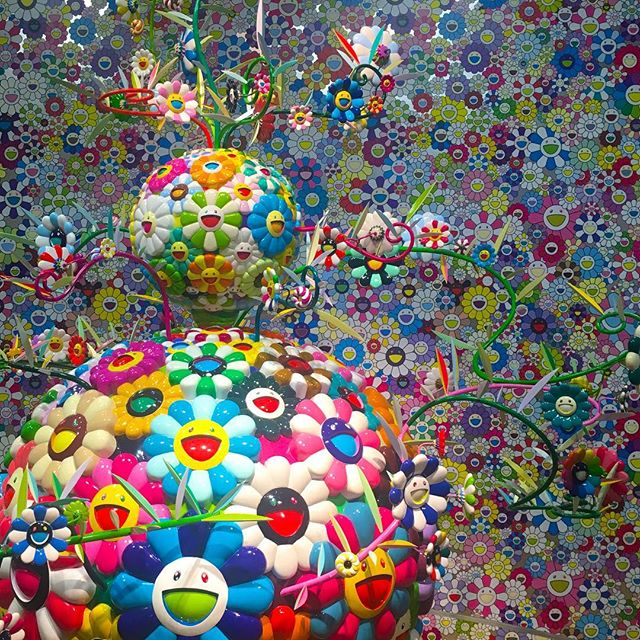 #modern #art: Takashi Murakami: The Octopus Eats Its Own Leg