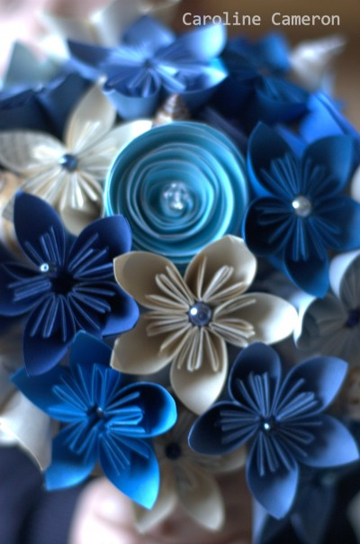 kusudama bouquet 2, diy paper bouquet