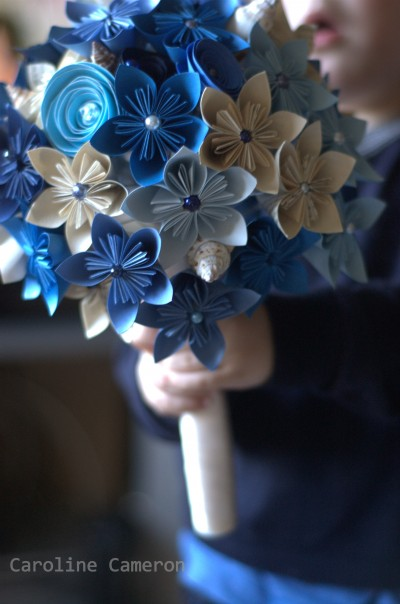 kusudama bouquet 3, diy paper bouquet