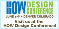 Visit us at the HOW Design Conference