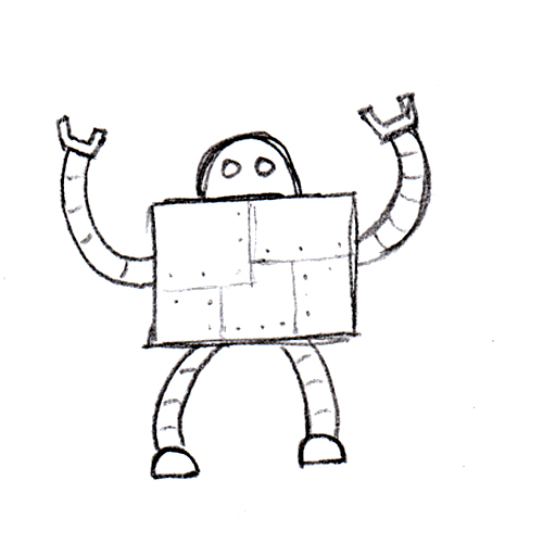Turning Your Sketches into Vector Art (with robots