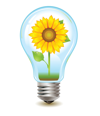 Vector Lightbulb. creating Simple, yet effective animated Gifs in Photoshop