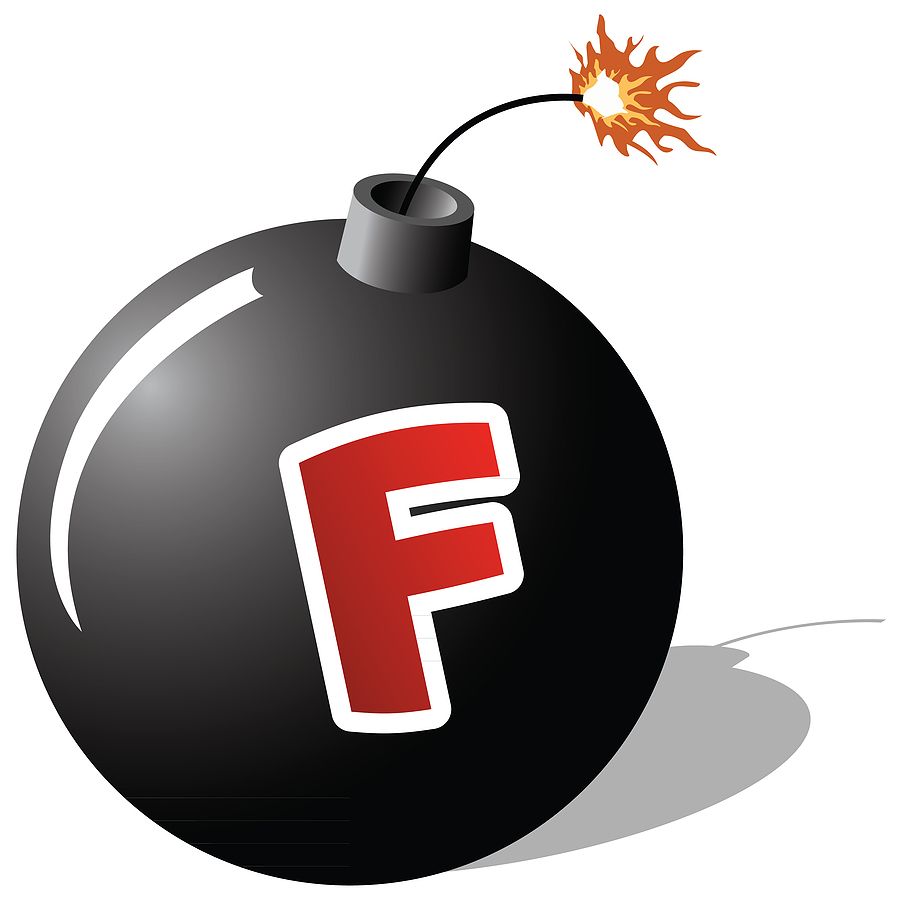 Stock photo bigstock-F-Bomb-9841634