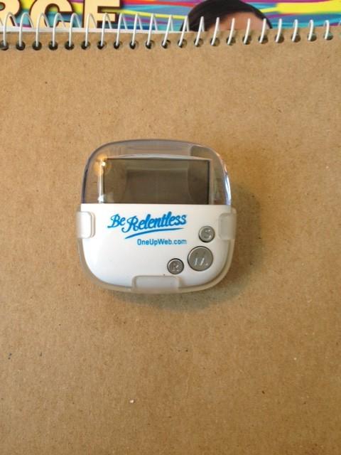 Photo of OneUpWeb.com pedometer