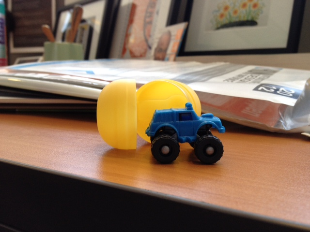 iPhone photo of Kinder Surprise Toy Egg
