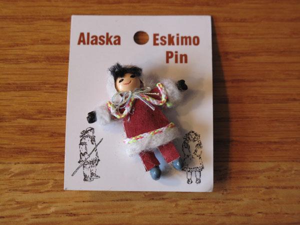 Photo of Desk Trinket Alaskan Eskimo Pin