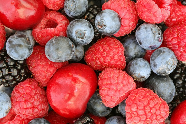 Stock photo of Berries Background
