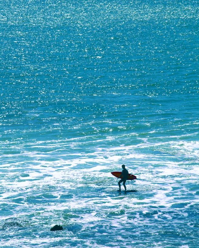 Surfer Silhouette Image ©ccaetano