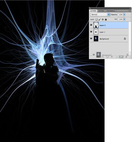 Movie magic movie poster delete background layer