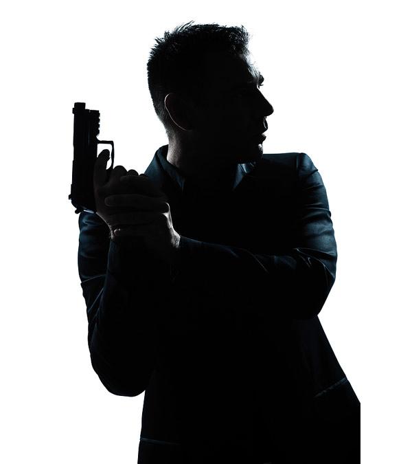 Movie Magic movie poster: bigstock-one-caucasian-spy-criminal-pol-29530640