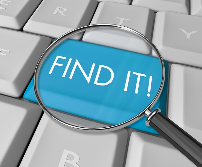 Image Find It Key on Computer Keyboard. Bigstock Basics: How to find the perfect Image