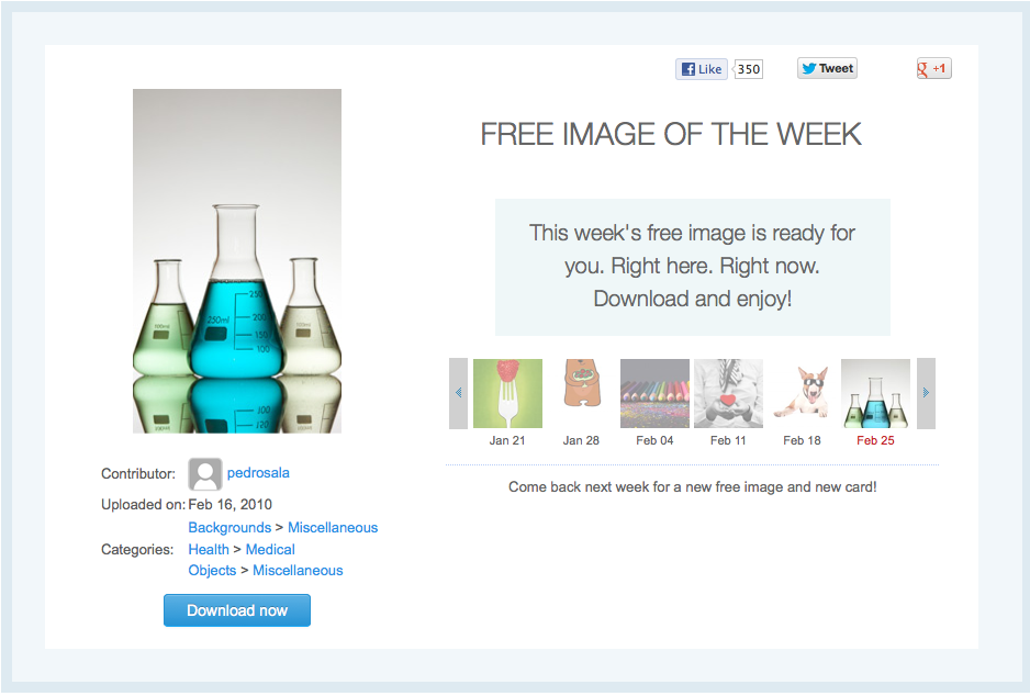 Screen Shot 2013-03-01 of Free Image beakers