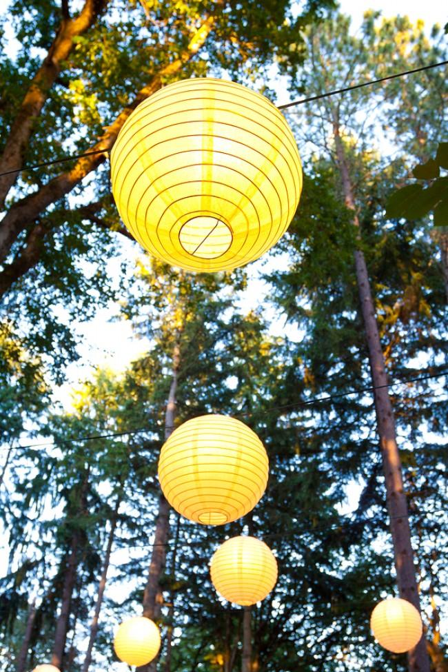 Yellow Wedding Decor photo