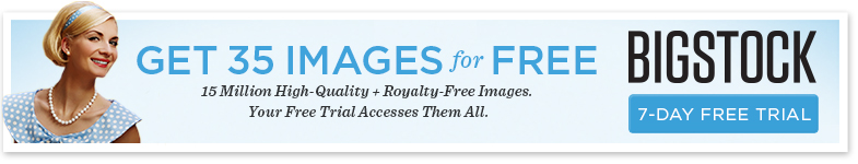 Get 35 Images for Free at Bigstock Images