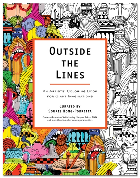 Outside The Lines By Souris Hong Porretta Cover Design Steve Harrington