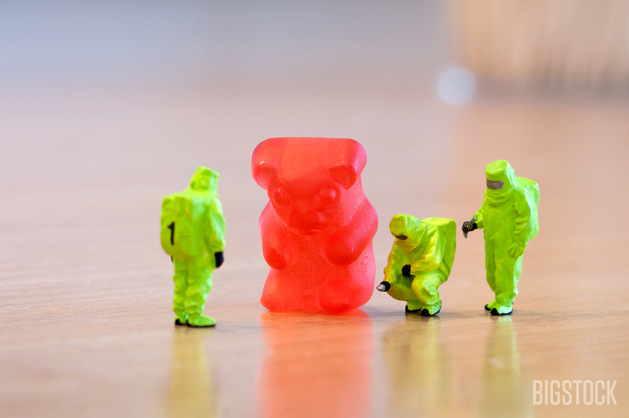 Inspecting a gummy bear | Kirill_M
