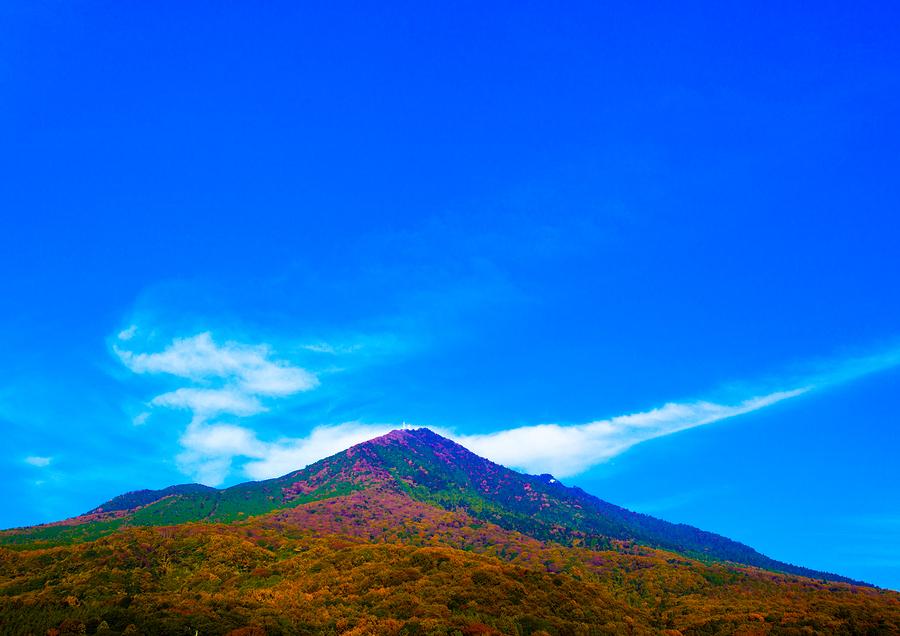 Mt. Tsukuba in Autumn