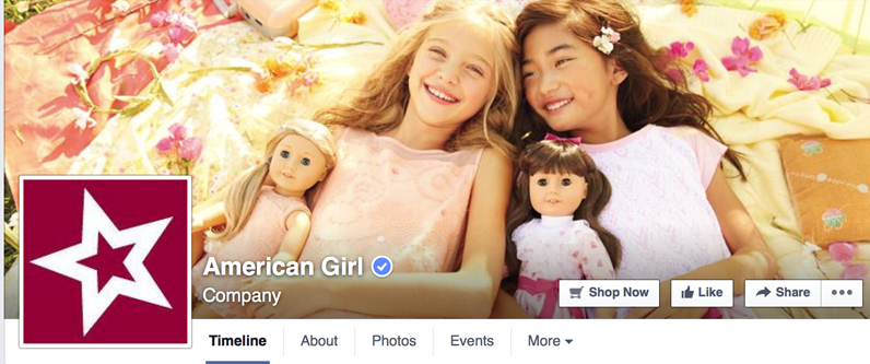 Every little girl envisions herself matching her favorite American Girl doll.