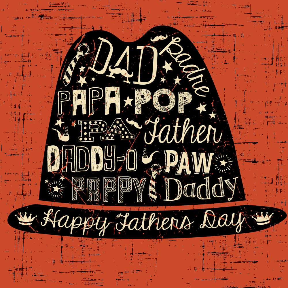 Father's Day hat by  TeddyandMia .