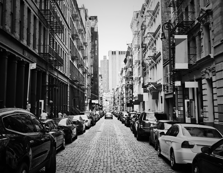 Photo of NYC's Soho neighborhood.