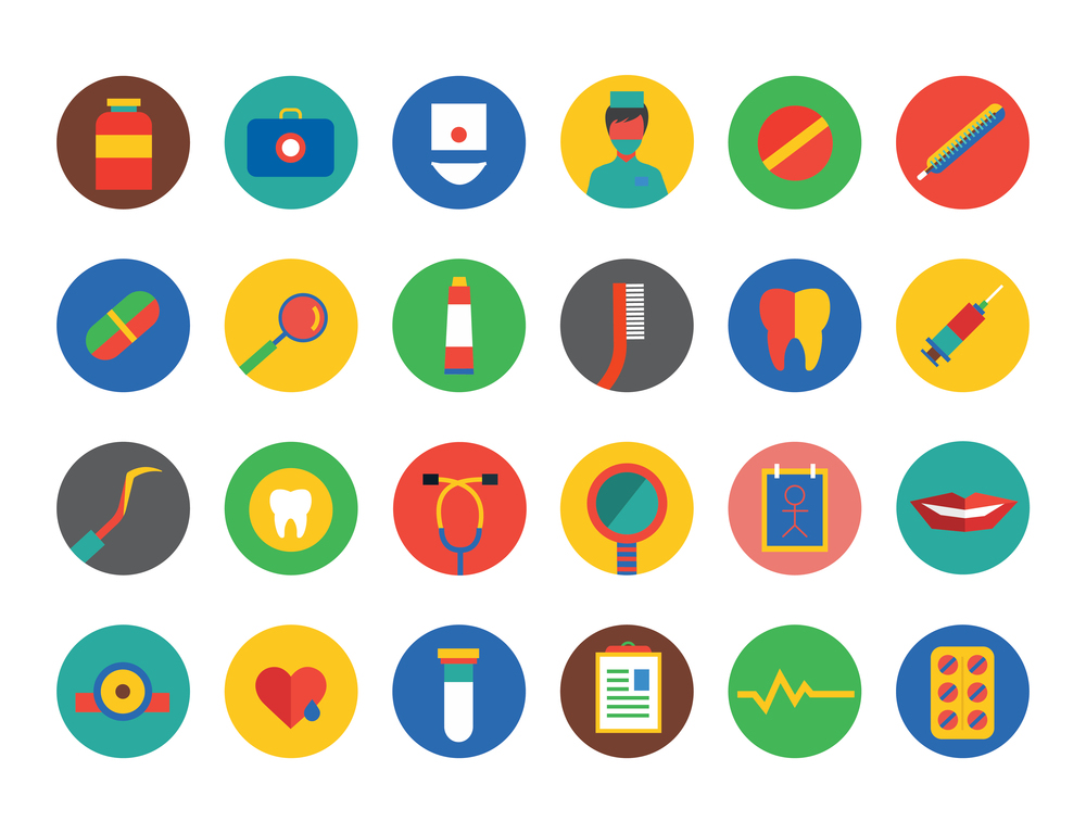 Medical icons set |  Utemov Alexey