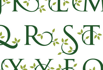Fruitful Fonts for the Organic Marketplace