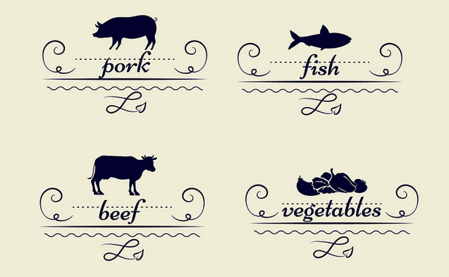 Restaurant Menu Graphics and Icons for Delectable Design