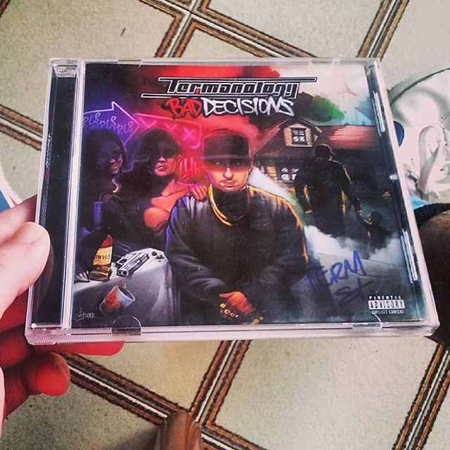 R/P @therealamedeo #FanLove #Termanology #BadDecisionsLp #CDCollection