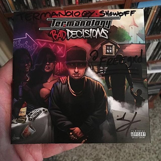 R/P @freegxd #Termanology #BadDecisionsLp  #CDCollection