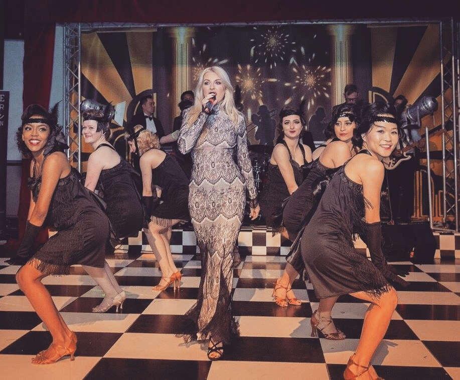 April 2016    Performing at the annual 'Hope For Hollie' ball - a charity I am an ambassador for and is very close to my heart.