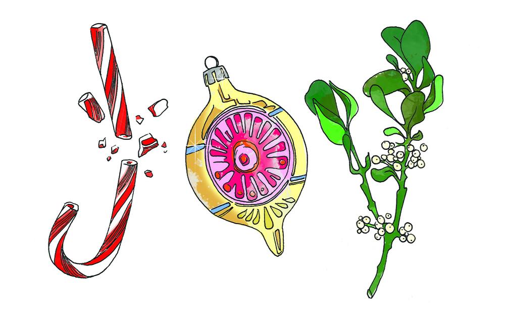 JOY illustration by Zenija Esmits