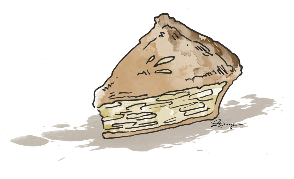 The pie may be the best in the city. But is it worth it? - Illustration: Zenija Esmits