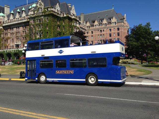 Wilson Transportation's Big Blue Bus