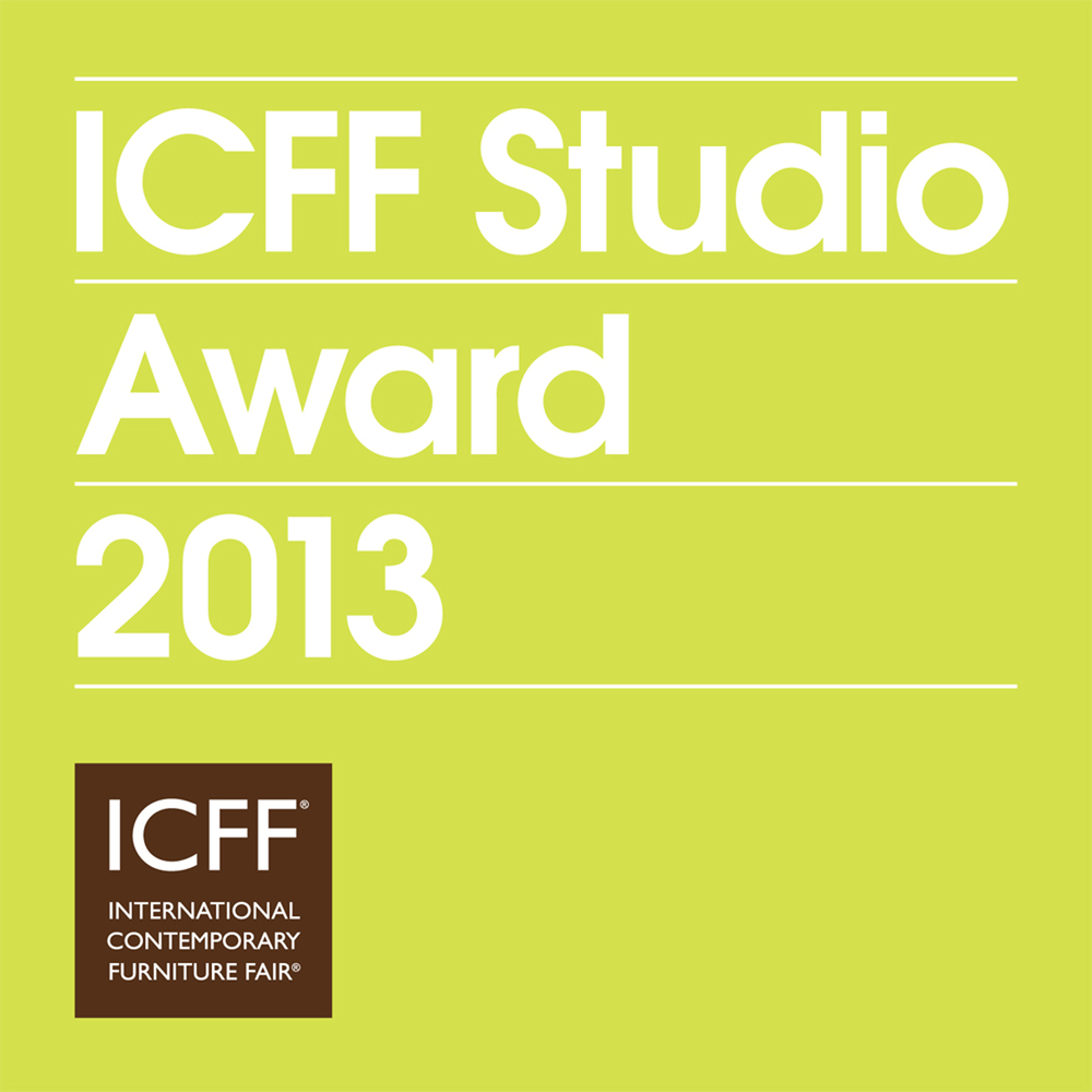 The  Lightbracket  received a  Bernhardt Design / ICFF Studio Award 2013.  May 18-21, 2013 at the Jacob Javits Center,  ICFF Studio / Booth #969